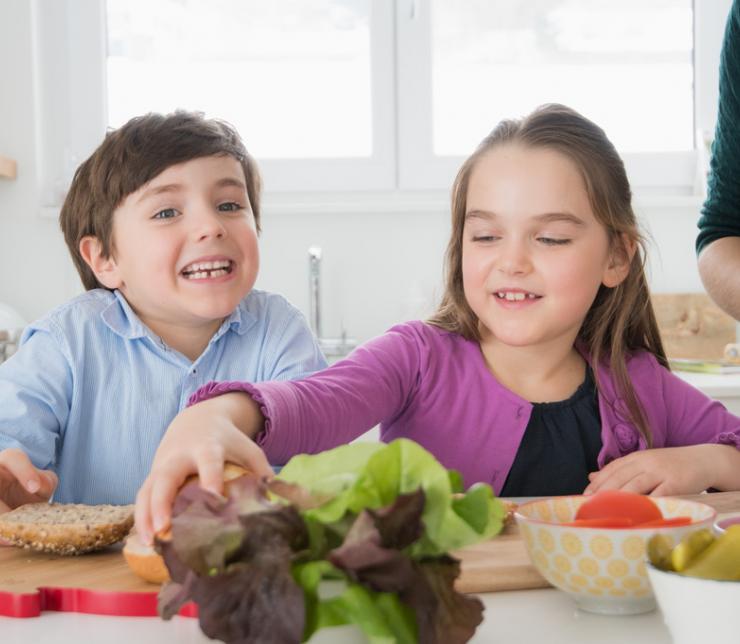 Comer saludable mientras estamos en casa
