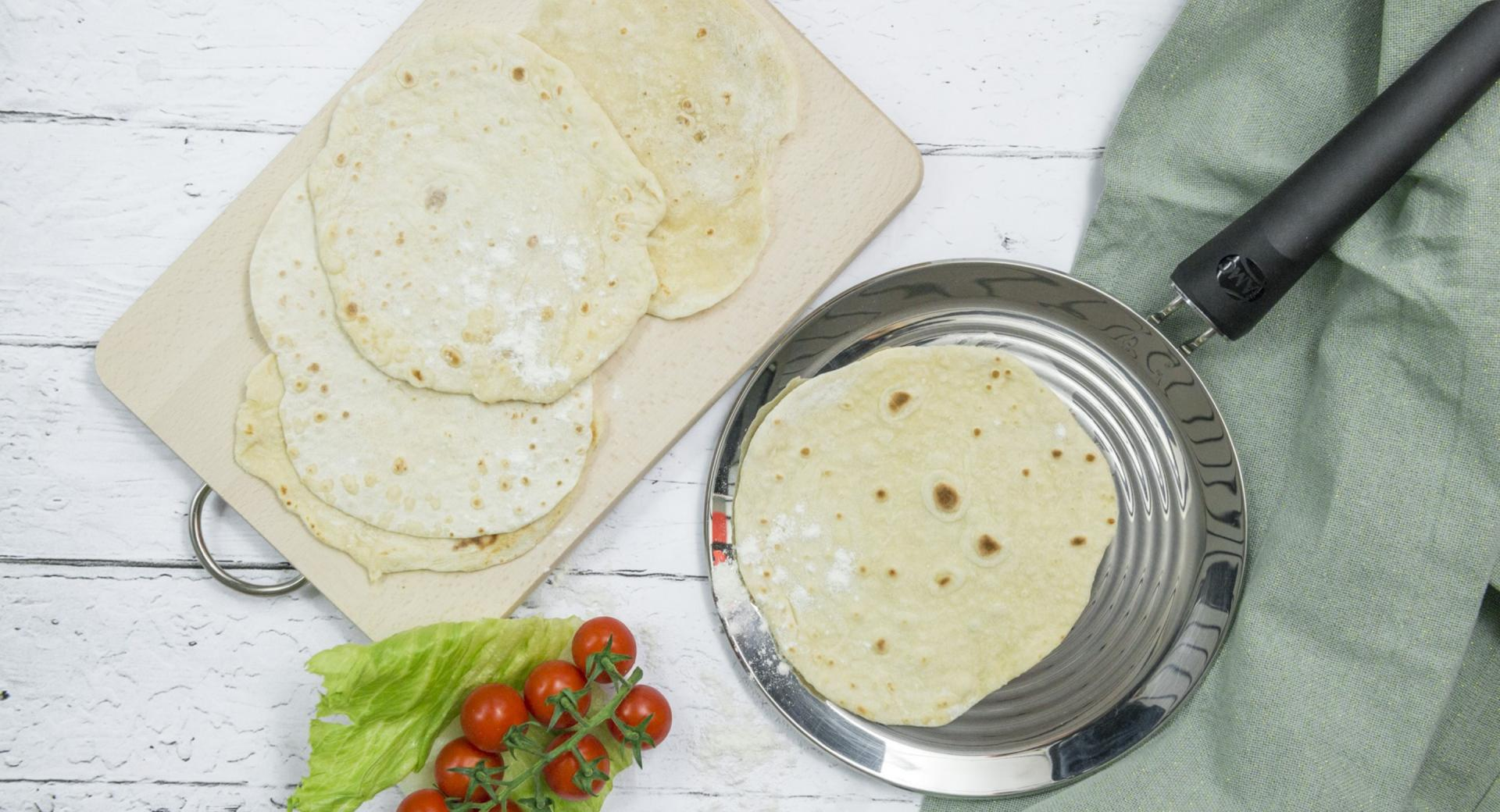Chapati (Pan de pita indio)