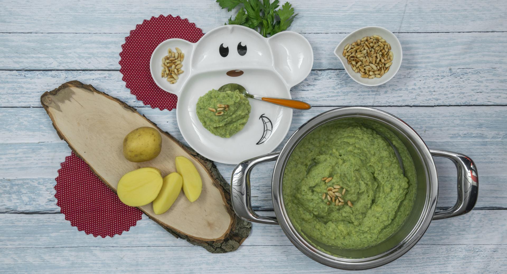 Puré de brócoli y patata