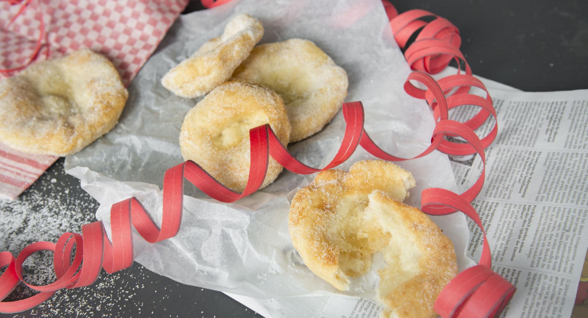 Buñuelos italianos (frittelle)