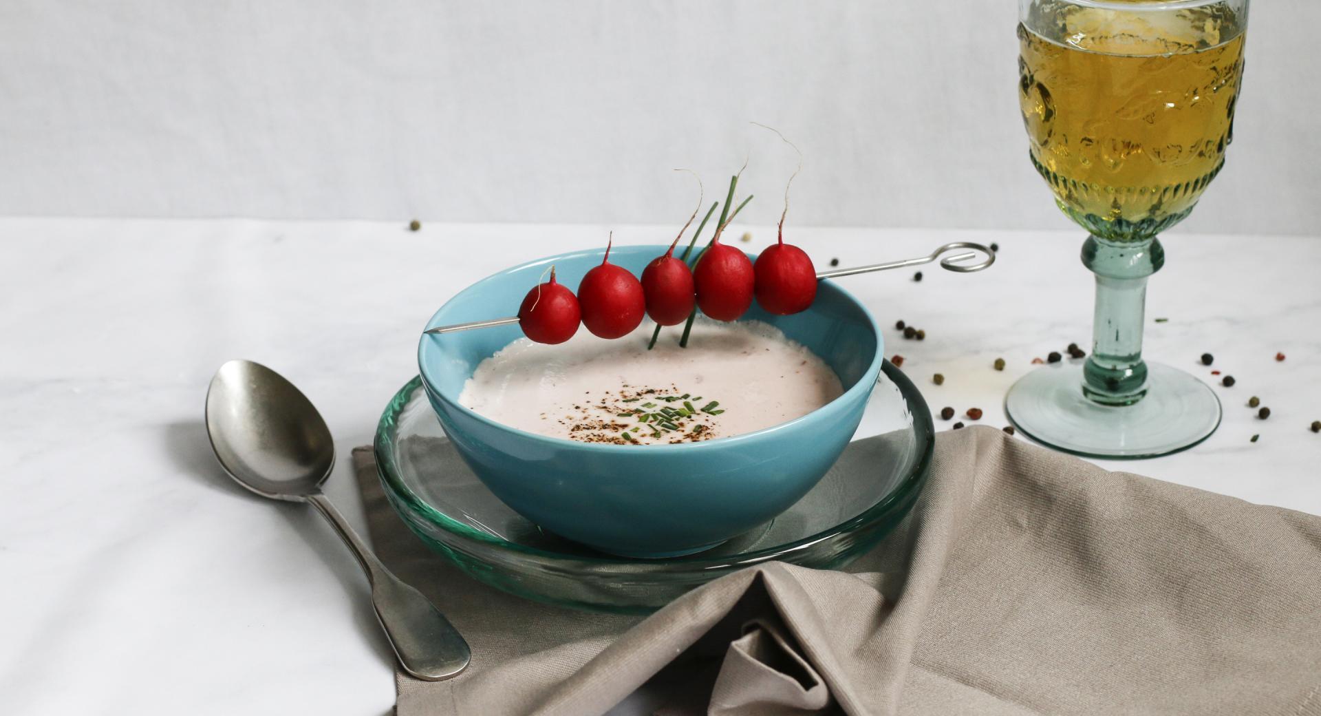 Sopa de rábano