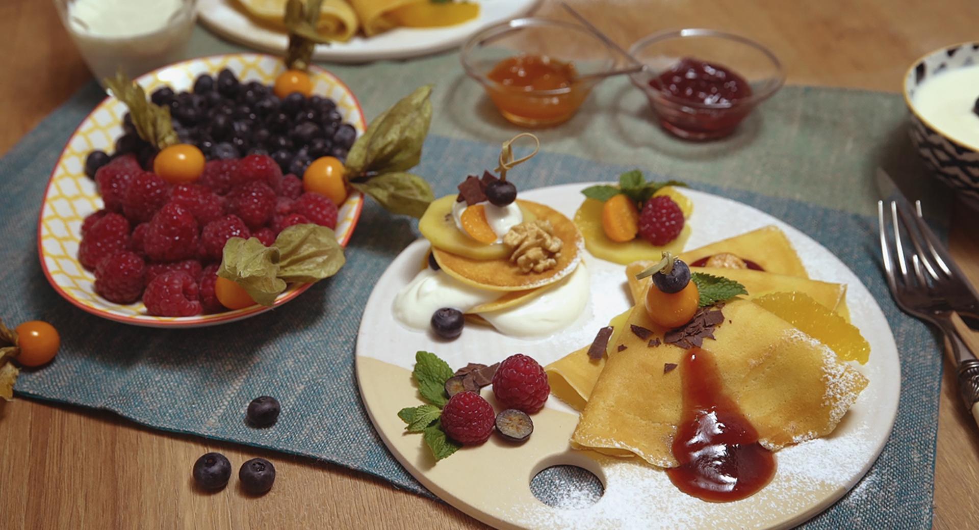 Tortitas con la oPan