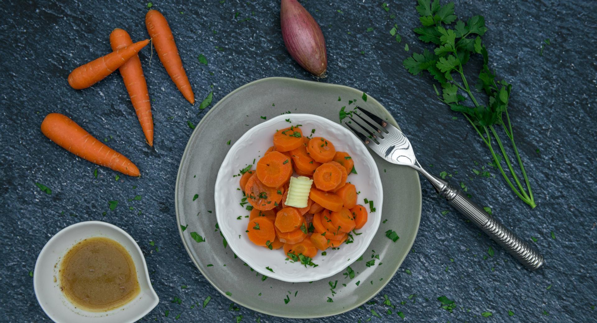 Zanahorias a la Marsala