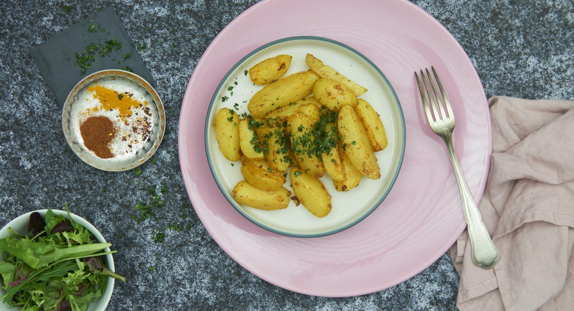 Patatas al horno Indias