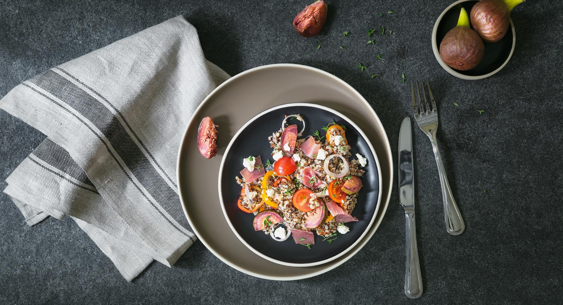 Ensalada veraniega de quinoa