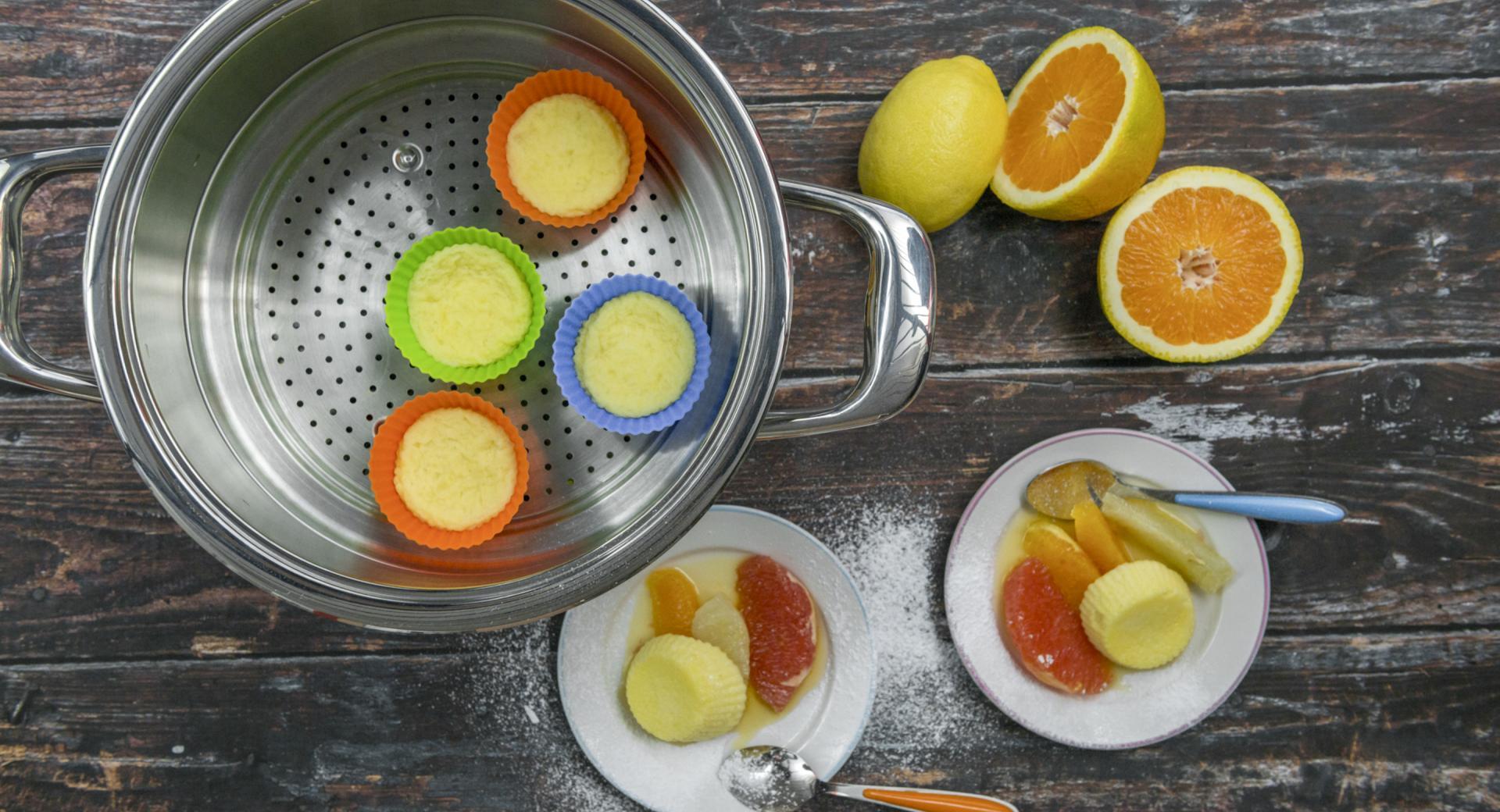Suflé de cítricos