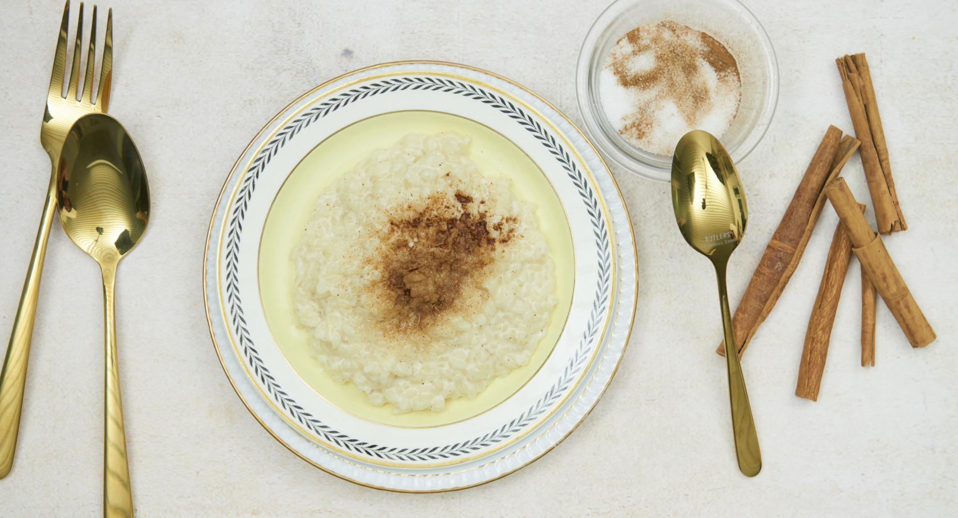 Arroz con leche turco