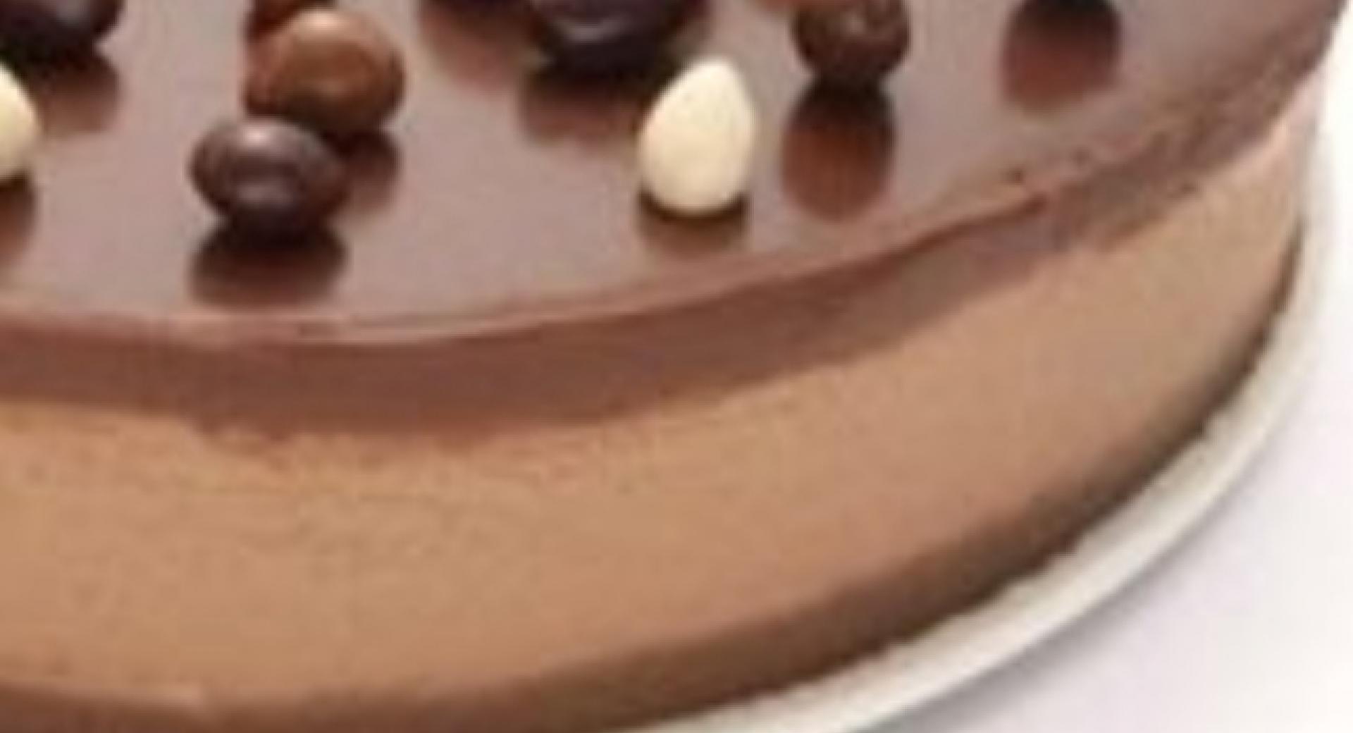 Tartade chocolate