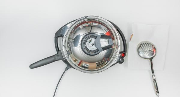 Asar con el Avisador (Audiotherm) hasta alcanzar los 90°C.