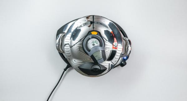 Todo funciona de forma totalmente automática y con control de la temperatura: el Navigenio y el Avisador (Audiotherm) controlan solos el aumento y la reducción de temperatura, así como el tiempo de cocción.
