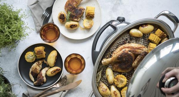 Métodos de cocción AMC- Asar sin añadir grasa