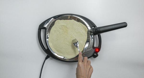 Bajar la temperatura del Navigenio (nivel 3) y colocar una Piadina en la oPan.