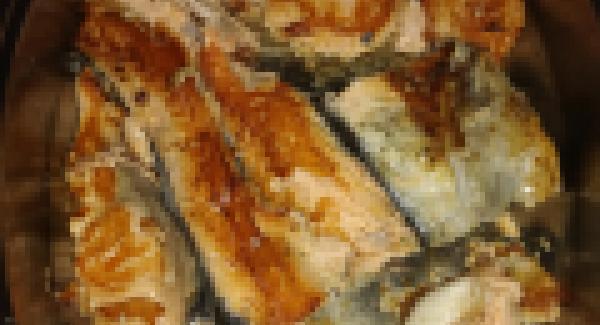 Si nos gusta más tostado pondremos el navigenio encima de la oval en modo horno tres minutos y listo