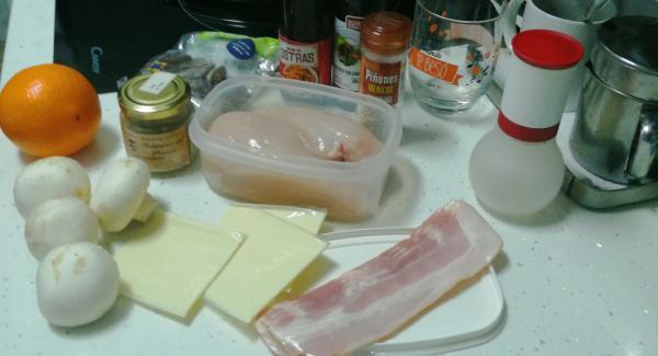 Prepararemos todos ingredientes