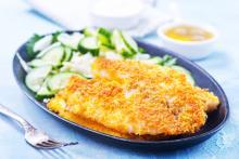Filete de pescado empanado
